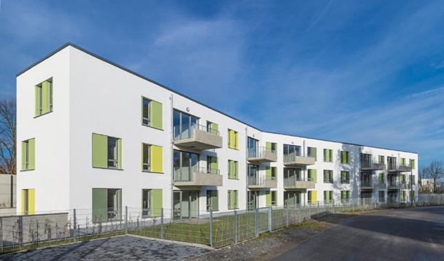 Neubau mit 15 Wohnungen