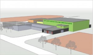 Sanierung Sportzentrum, Menden